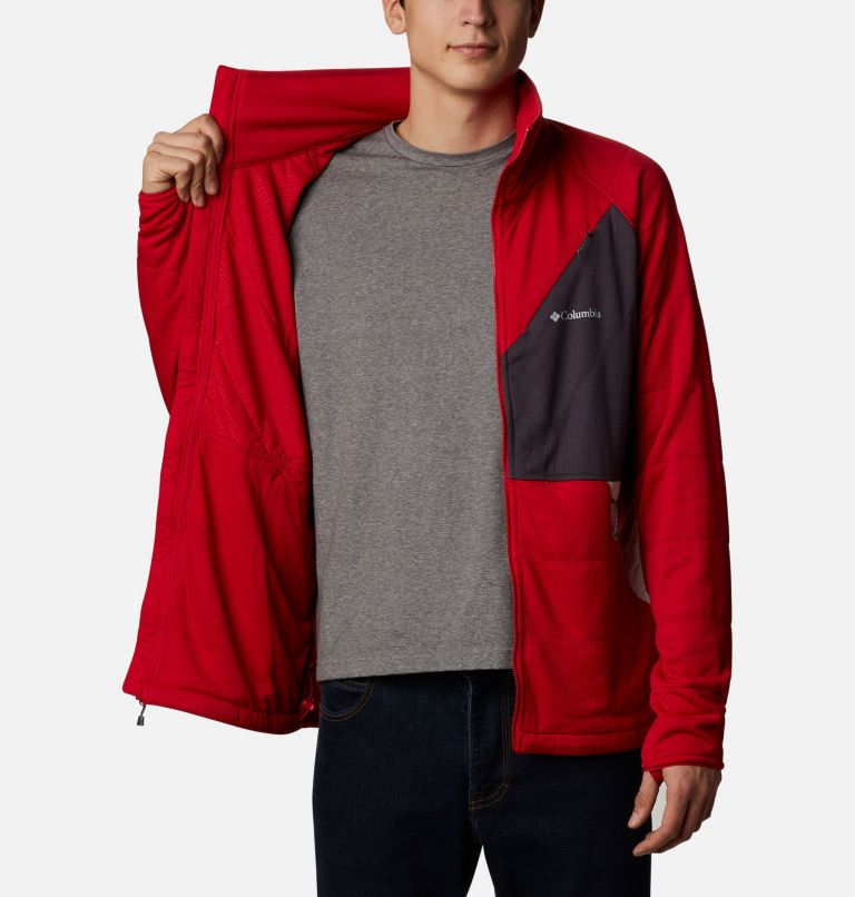 M Parkdale Point™ Full Zip | 613 | XL Men's Parkdale Point™ Full Zip Jacket, Mountain Red, a3