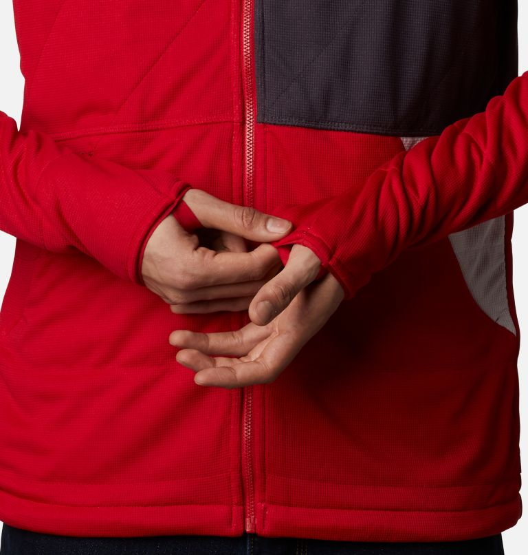 M Parkdale Point™ Full Zip | 613 | XL Men's Parkdale Point™ Full Zip Jacket, Mountain Red, a4
