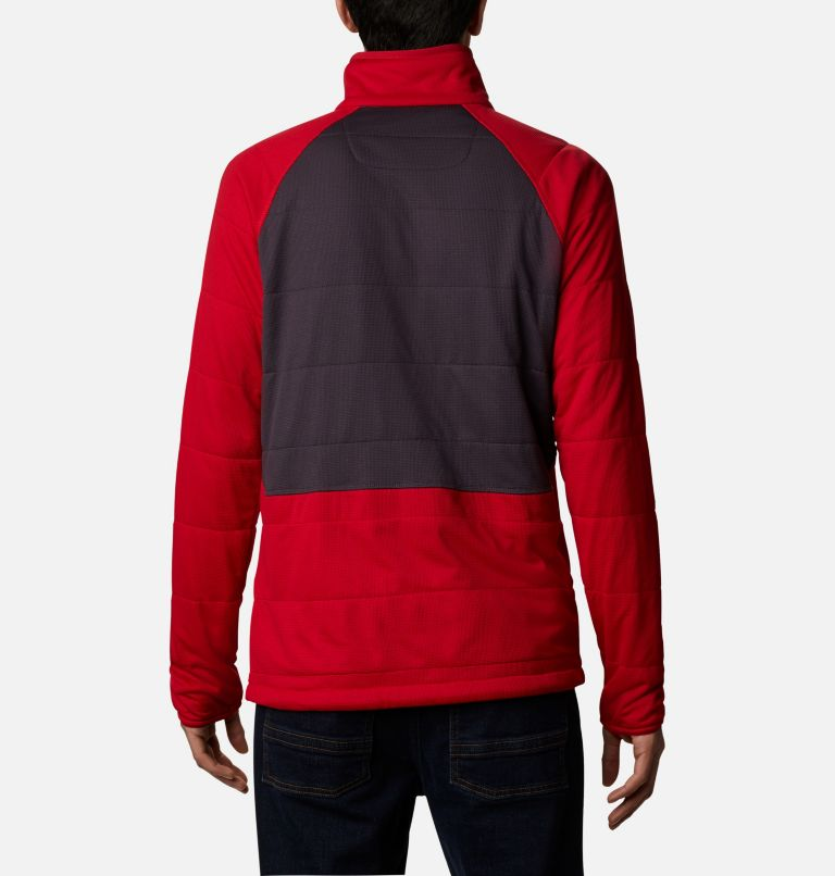 M Parkdale Point™ Full Zip | 613 | XL Men's Parkdale Point™ Full Zip Jacket, Mountain Red, back