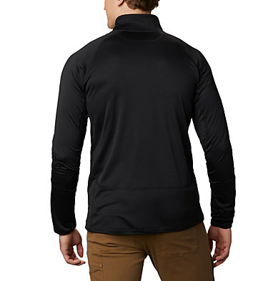 Strato intermedio con cerniera integrale Mt. Powder™ da uomo Mt. Powder™ Full Zip | 613 | XXL, Black, back