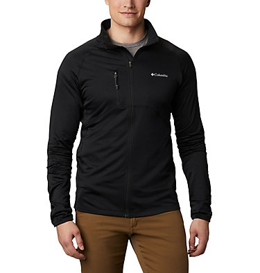 Strato intermedio con cerniera integrale Mt. Powder™ da uomo Mt. Powder™ Full Zip | 613 | XXL, Black, front