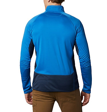 Men's Mt. Powder™ Full Zip Midlayer Mt. Powder™ Full Zip | 613 | XXL, Bright Indigo, Collegiate Navy, back