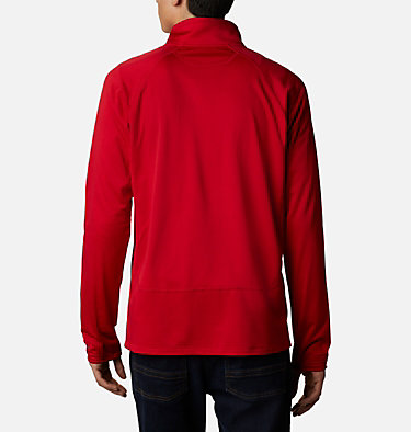 Strato intermedio con cerniera integrale Mt. Powder™ da uomo Mt. Powder™ Full Zip | 613 | XXL, Mountain Red, back