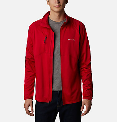 Men's Mt. Powder™ Full Zip Midlayer Mt. Powder™ Full Zip | 010 | XL, Mountain Red, front