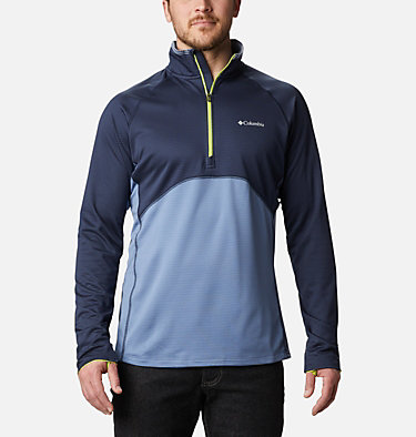 Veste intermédiaire à demi-zip Mt. Powder™ homme Mt. Powder™ Half Zip | 464 | M, Collegiate Navy, Bluestone, front