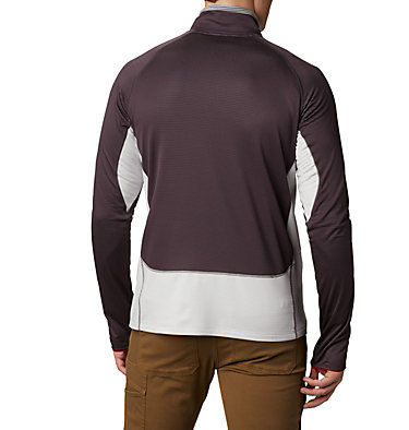 Veste intermédiaire à demi-zip Mt. Powder™ homme Mt. Powder™ Half Zip | 464 | M, Dark Purple, Nimbus Grey, back
