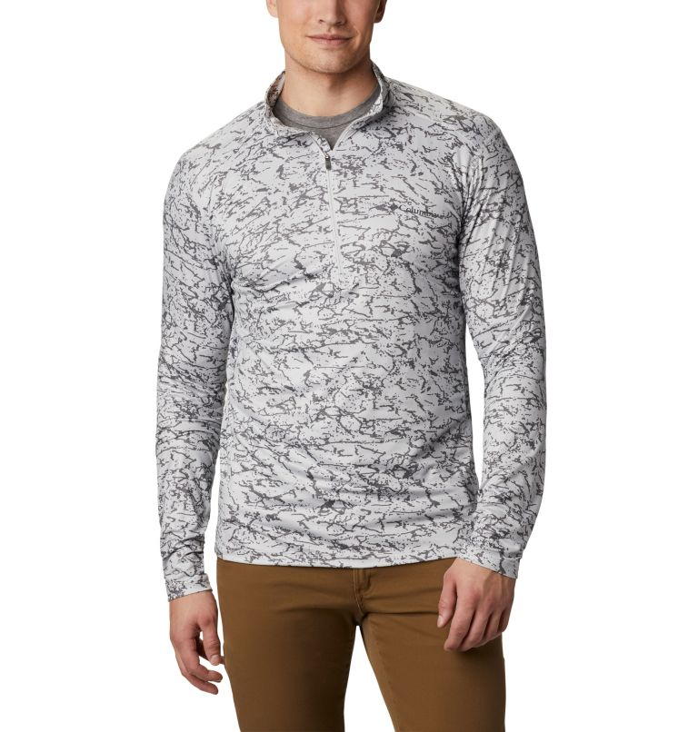 Men's Winter Power™ Half Zip Shirt Men's Winter Power™ Half Zip Shirt, front
