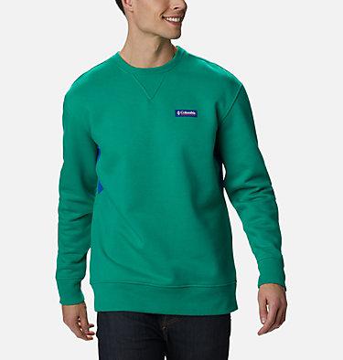 Men's Bugasweat™ Crew Bugasweat™ Crew | 374 | L, Emerald Green, Lapis Blue, front