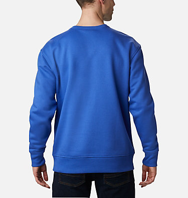 Men's Bugasweat™ Crew Bugasweat™ Crew | 374 | L, Lapis Blue, Bright Geranium, back