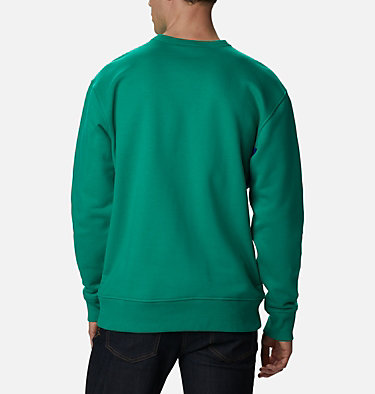Men's Bugasweat Crew Bugasweat™ Crew | 673 | L, Emerald Green, Lapis Blue, back