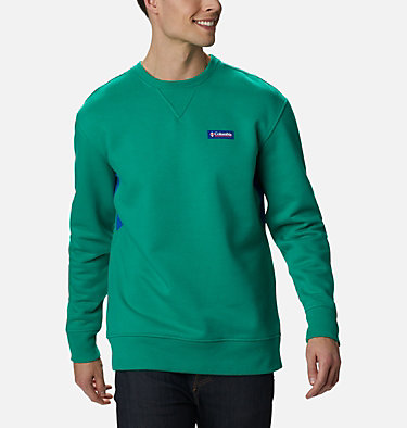 Haut ras-du-cou Bugasweat homme Bugasweat™ Crew | 673 | L, Emerald Green, Lapis Blue, front