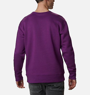 Men's Bugasweat Crew Bugasweat™ Crew | 673 | L, Plum, Black, back