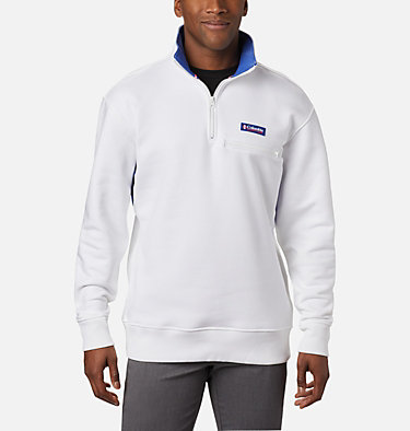 Bugasweat™ Quarter Zip Bugasweat™ Quarter Zip | 100 | L, White, Lapis Blue, front