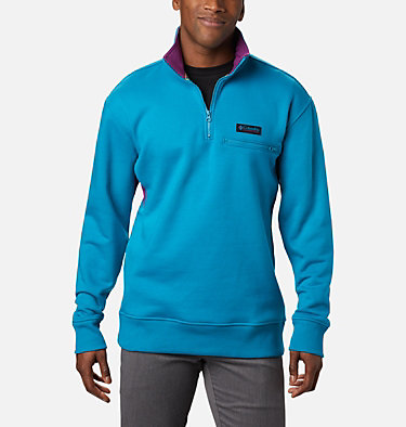 Bugasweat™ Quarter Zip Bugasweat™ Quarter Zip | 100 | L, Fjord Blue, Plum, front