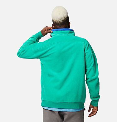 Men's Powder Keg™ Fleece Pullover Powder Keg™ Fleece | 100 | L, Emerald Green, Lapis Blue, back
