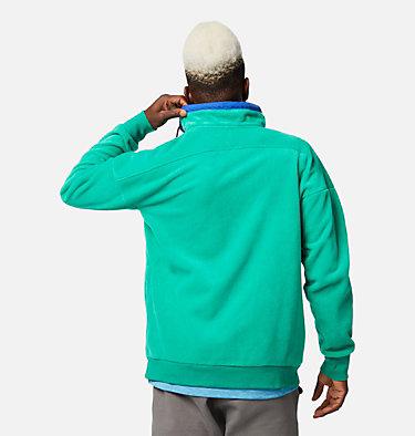 Men's Powder Keg™ Fleece Pullover Powder Keg™ Fleece | 100 | L, Emerald Green, Lapis Blue, back