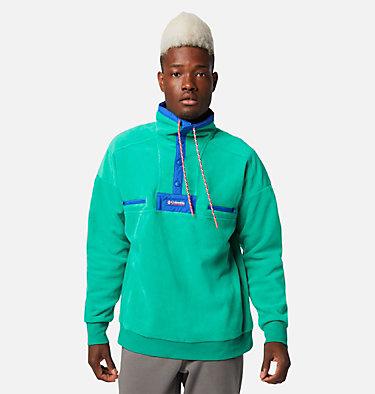 Men's Powder Keg™ Fleece Pullover Powder Keg™ Fleece | 100 | L, Emerald Green, Lapis Blue, front