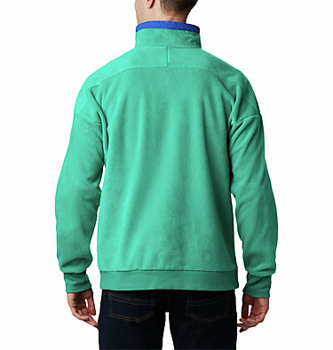 Pile Powder Keg™ Unisex Powder Keg™ Fleece | 100 | L, Emerald Green, Lapis Blue, back