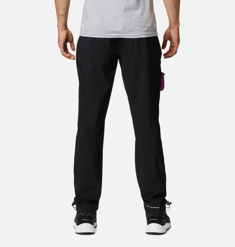 Powder Keg™ Stretch Cargo Pant | 010 | 44 Men's Powder Keg™ Stretch Cargo Pants, Black, Plum, back