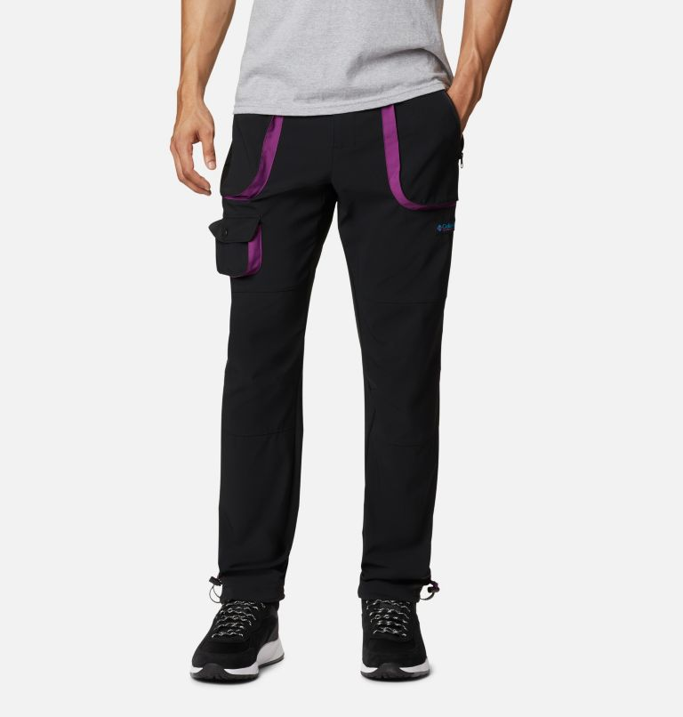 Powder Keg™ Stretch Cargo Pant | 010 | 44 Men's Powder Keg™ Stretch Cargo Pants, Black, Plum, front