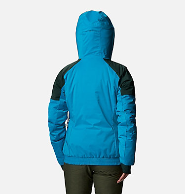Women's Tracked Out Interchange Jacket Tracked Out™ Interchange Jacket | 462 | XL, Fjord Blue, Spruce, Dark Nocturnal, back