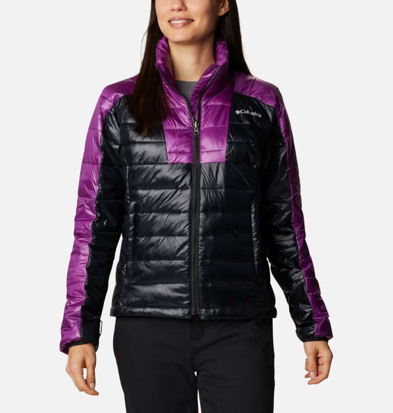 Tracked Out™ Interchange Jacket | 575 | XS Women's Tracked Out™ Interchange Jacket, Plum, Black, Black, a10