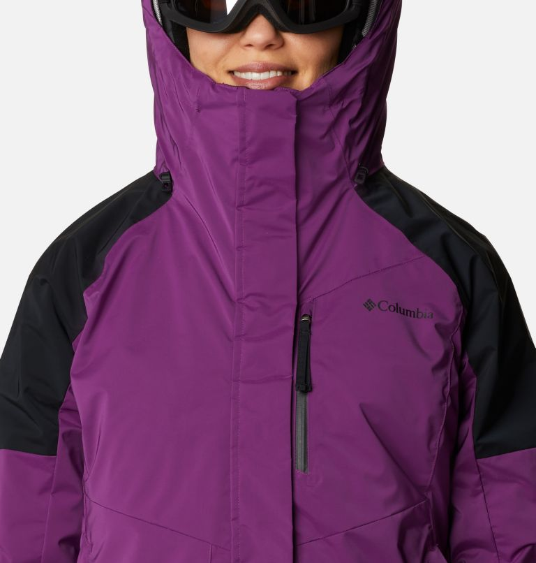 Tracked Out™ Interchange Jacket | 575 | XS Women's Tracked Out™ Interchange Jacket, Plum, Black, Black, a2