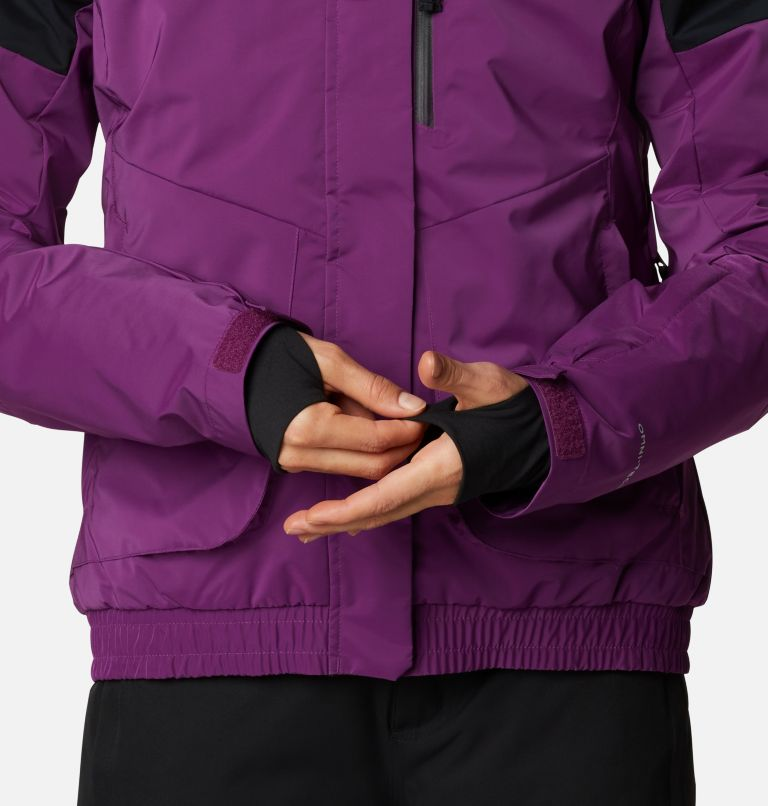 Tracked Out™ Interchange Jacket | 575 | XS Women's Tracked Out™ Interchange Jacket, Plum, Black, Black, a8