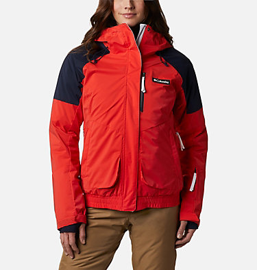 Women's Tracked Out Interchange Jacket Tracked Out™ Interchange Jacket | 462 | XL, Bold Orange, Dark Nocturnal, White, front