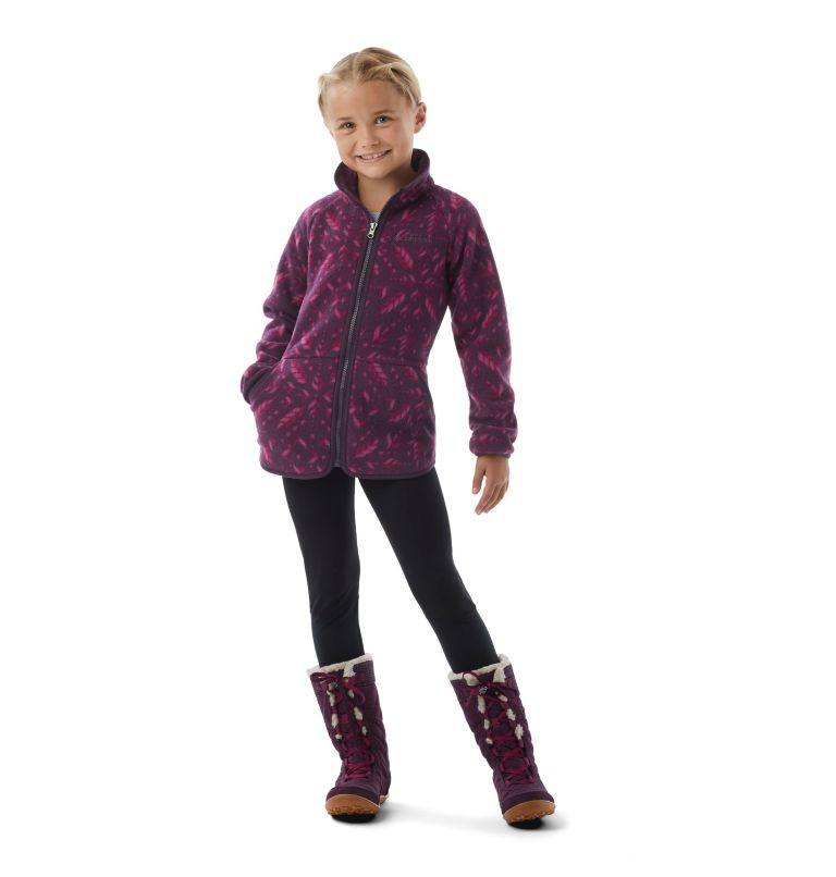 Girls' Disney Anna Full Zip Fleece Girls' Disney Anna Full Zip Fleece, a1