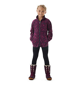 Girls' Disney Anna Full Zip Fleece