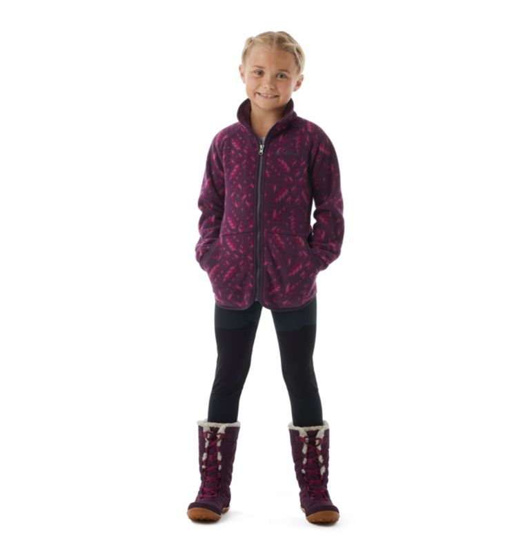 Girls' Disney Anna Full Zip Fleece Girls' Disney Anna Full Zip Fleece, front