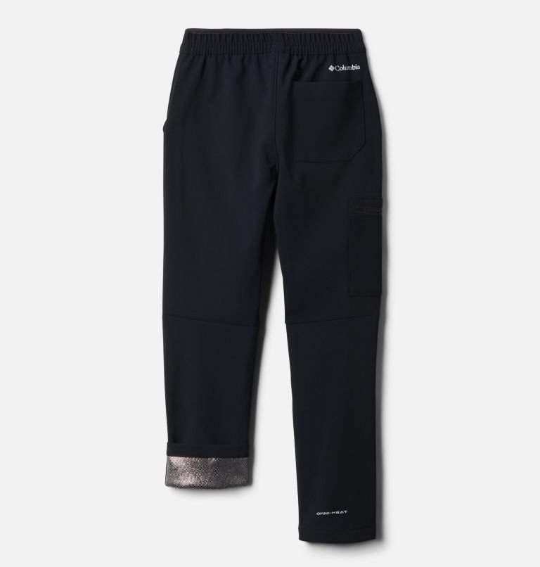 Tech Trek™ Warm Pant | 010 | S Boys' Tech Trek™ Warm Pants, Black, back