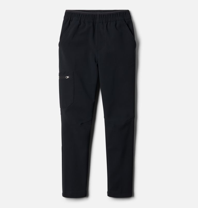 Tech Trek™ Warm Pant | 010 | S Boys' Tech Trek™ Warm Pants, Black, front