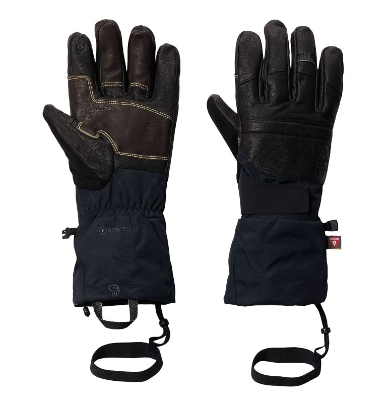 Boundary Ridge™ Gore-Tex™ Glove | 010 | S Boundary Ridge™ Gore-Tex™ Unisex Glove, Black, front