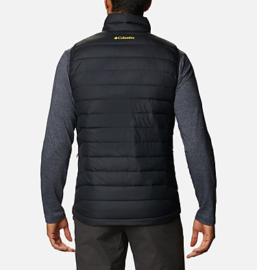 Men's Collegiate Powder Lite™ Vest - Oregon CLG Powder Lite™ Vest | 019 | L, UO - Black, back