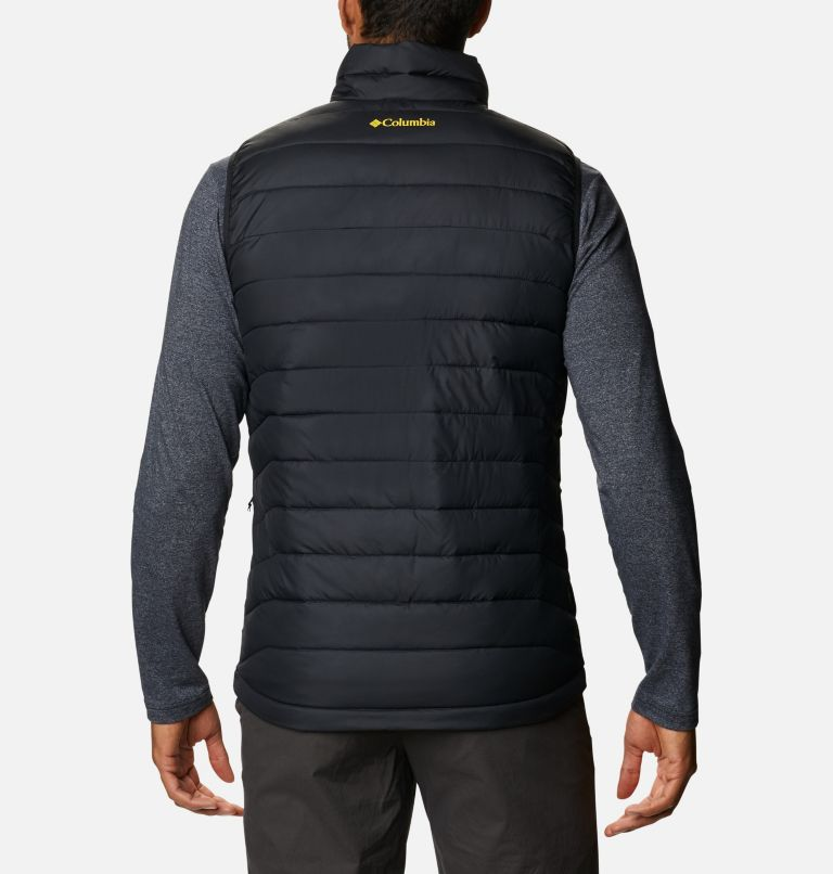 Men's Collegiate Powder Lite™ Vest - Oregon Men's Collegiate Powder Lite™ Vest - Oregon, back
