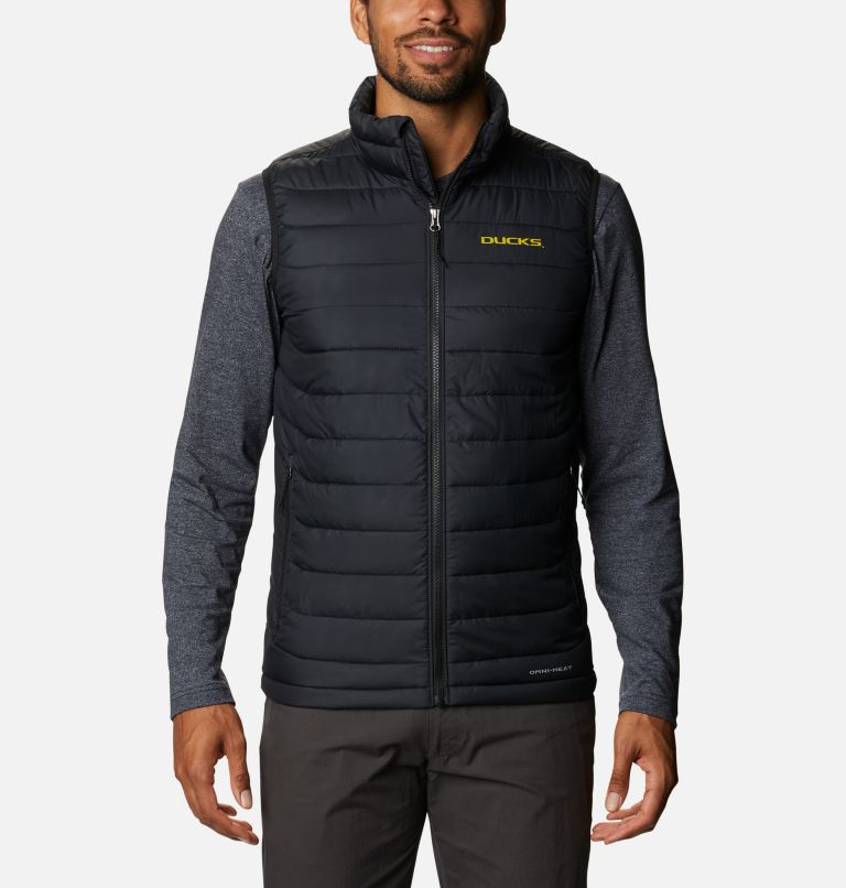 Men's Collegiate Powder Lite™ Vest - Oregon Men's Collegiate Powder Lite™ Vest - Oregon, front