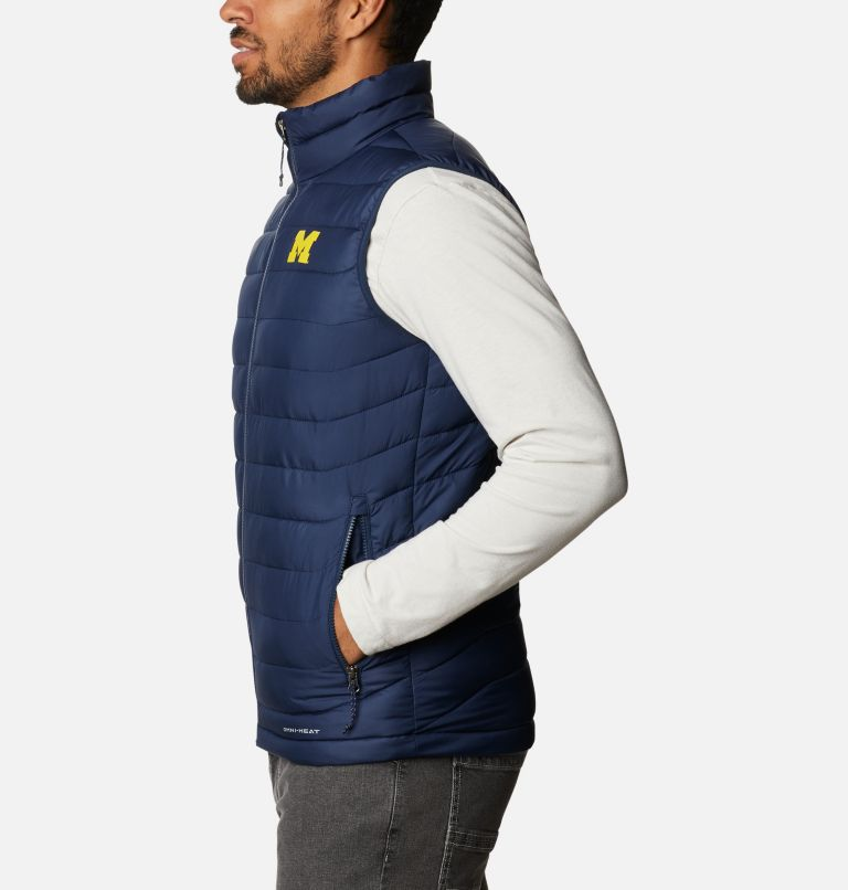 Men's Collegiate Powder Lite™ Vest - Michigan Men's Collegiate Powder Lite™ Vest - Michigan, a1