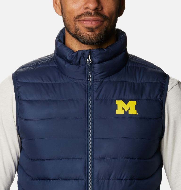Men's Collegiate Powder Lite™ Vest - Michigan Men's Collegiate Powder Lite™ Vest - Michigan, a2