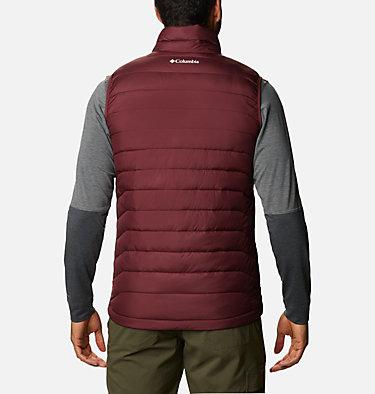 Men's Collegiate Powder Lite™ Vest - Texas A&M CLG Powder Lite™ Vest | 627 | S, TAM - Deep Maroon, back