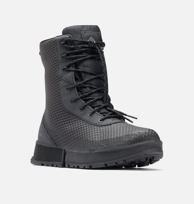HYPER-BOREAL™ OMNI-HEAT™ TALL | 010 | 12 Stivali alti Hyper-Boreal Omni-Heat da uomo, Black, Ti Grey Steel, 3/4 front