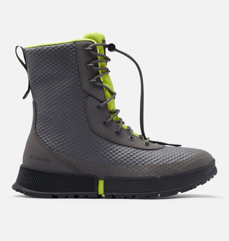 HYPER-BOREAL™ OMNI-HEAT™ TALL | 089 | 11.5 Men's Hyper-Boreal™ Omni-Heat™ Tall Boot, Dark Grey, Acid Green, front
