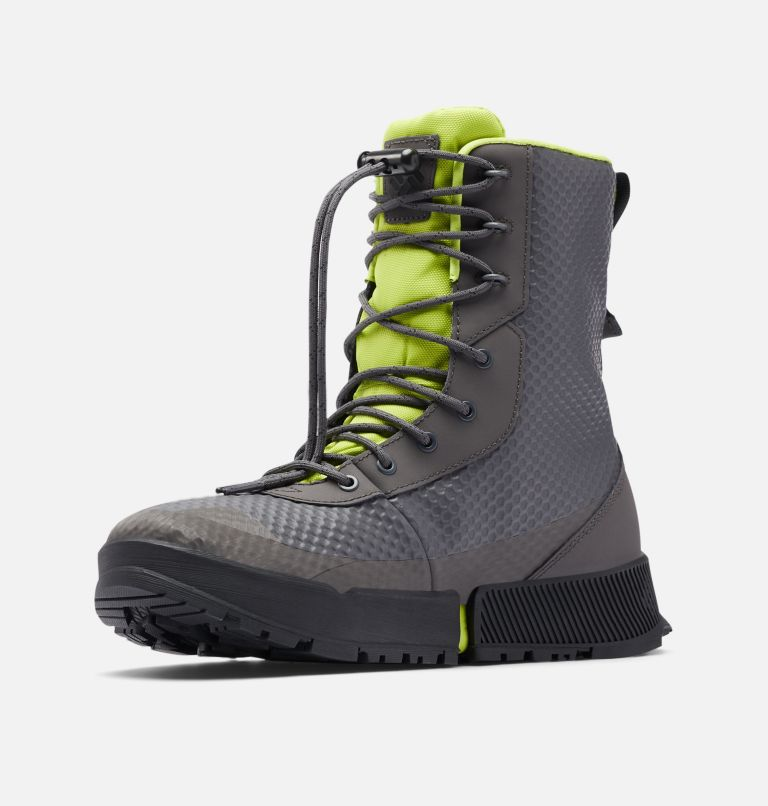 HYPER-BOREAL™ OMNI-HEAT™ TALL | 089 | 7.5 Men's Hyper-Boreal™ Omni-Heat™ Tall Boot, Dark Grey, Acid Green