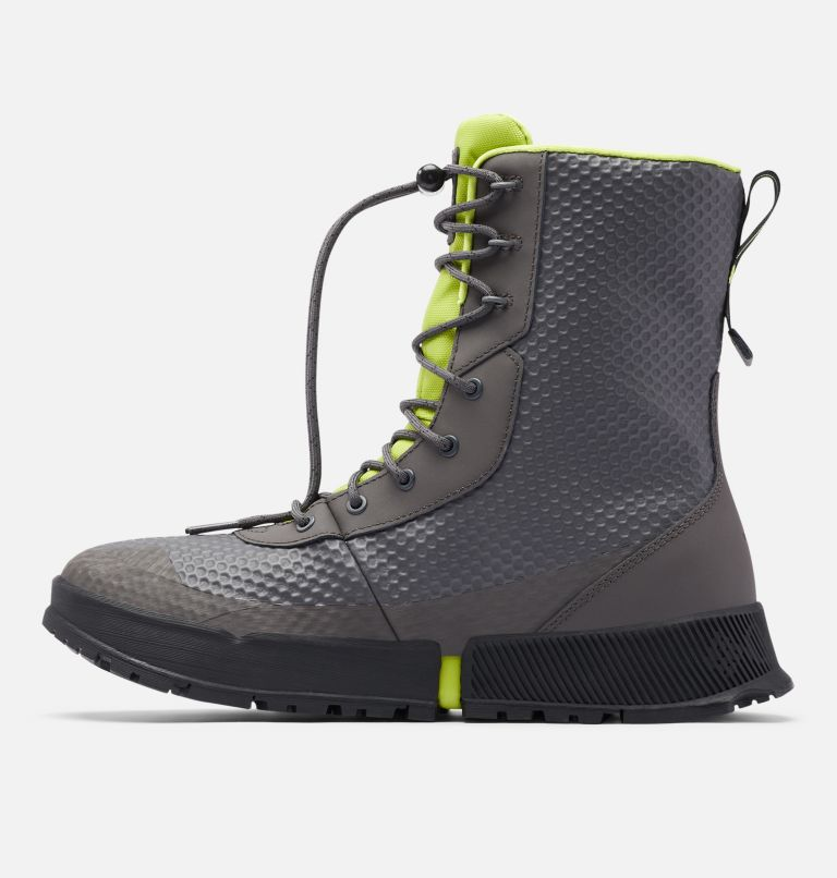 HYPER-BOREAL™ OMNI-HEAT™ TALL | 089 | 11.5 Men's Hyper-Boreal™ Omni-Heat™ Tall Boot, Dark Grey, Acid Green, medial