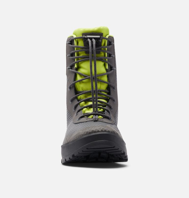 HYPER-BOREAL™ OMNI-HEAT™ TALL | 089 | 7.5 Men's Hyper-Boreal™ Omni-Heat™ Tall Boot, Dark Grey, Acid Green, toe