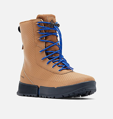 Men's Hyper-Boreal Omni-Heat Tall Boot HYPER-BOREAL™ OMNI-HEAT™ TALL | 286 | 10, Elk, Cobalt, 3/4 front