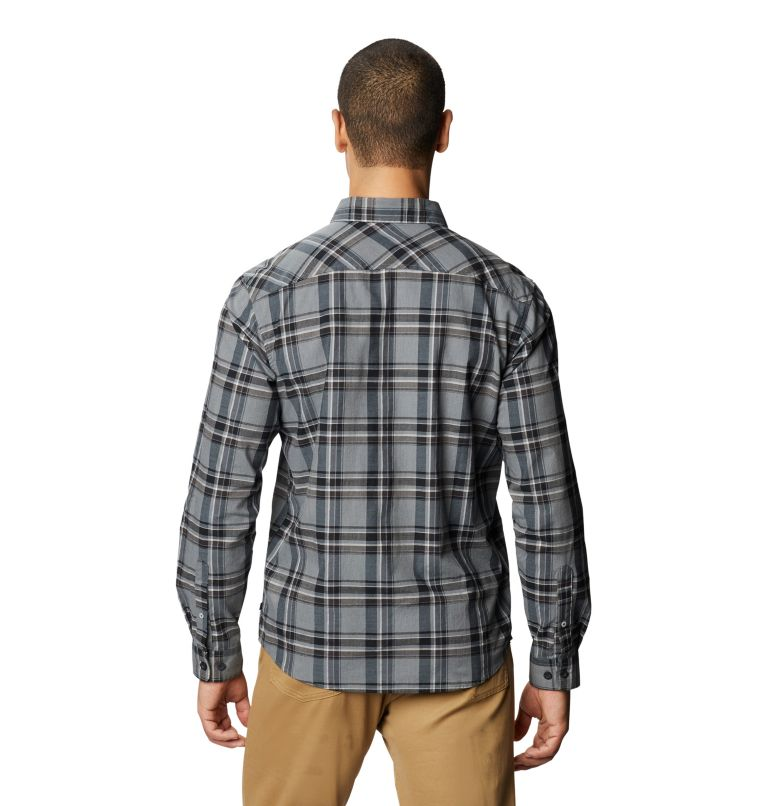 Big Cottonwood™ Long Sleeve Shirt | 054 | M Men's Big Cottonwood™ Long Sleeve Shirt, Light Storm, back