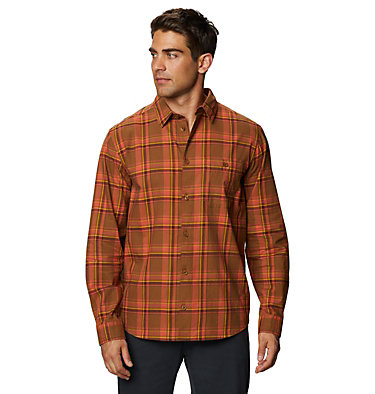 Men's Big Cottonwood™ Long Sleeve Shirt Big Cottonwood™ Long Sleeve Shirt | 333 | L, Golden Brown, front