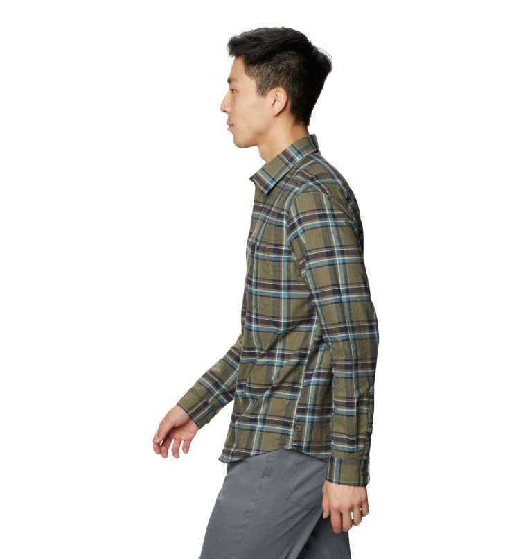Big Cottonwood™ Long Sleeve Shirt | 333 | M Men's Big Cottonwood™ Long Sleeve Shirt, Light Army, a1